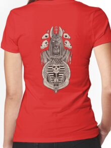Anubis. Women's Fitted V-Neck T-Shirt