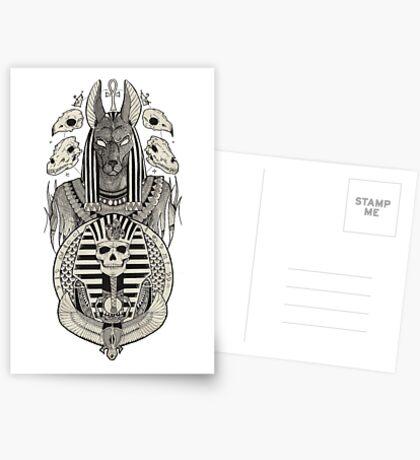 Anubis. Greeting Card