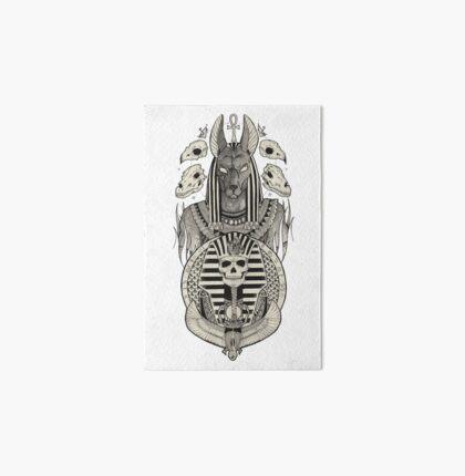 Anubis. Art Board
