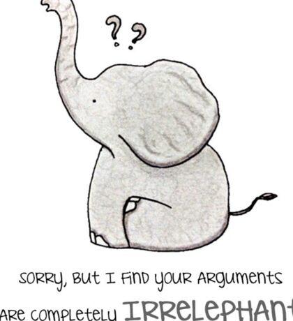 Elephant - Words of Life Sticker