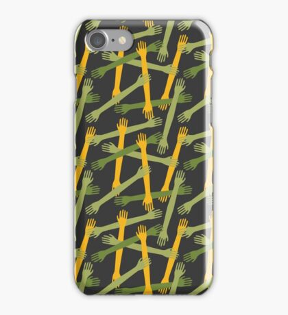 Hands pattern iPhone Case/Skin