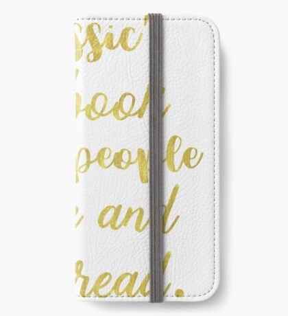 Mark Twain quote iPhone Wallet/Case/Skin