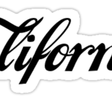 California Collection Sticker