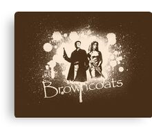 Firefly Browncoats Canvas Print