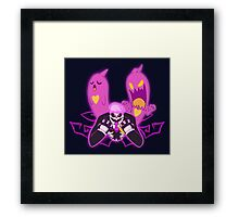Time for givin' up the ghost Framed Print