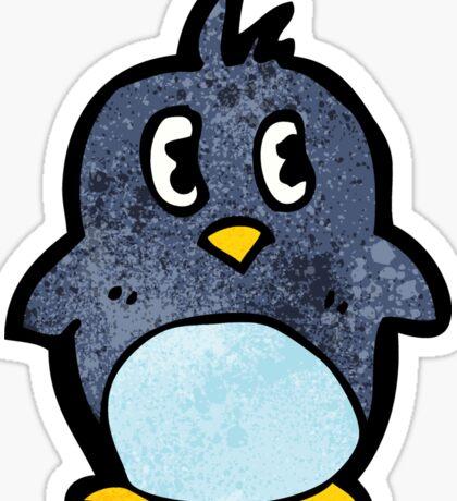 cartoon little penguin Sticker