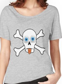 Tongue And Cheek Skull Women's Relaxed Fit T-Shirt