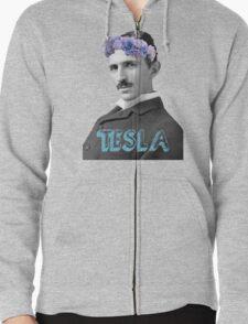 Tesla Zipped Hoodie