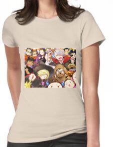 Yuri Halloween Womens Fitted T-Shirt