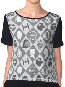 May the force be with u Chiffon Top