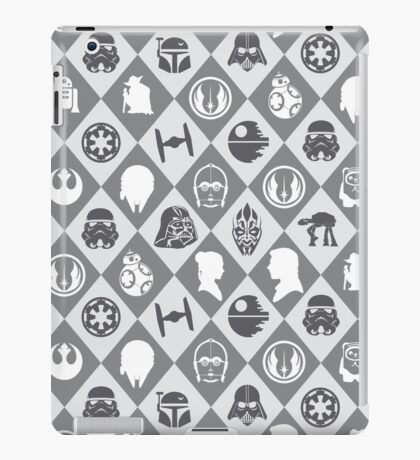 May the force be with u iPad Case/Skin