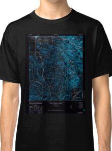 USGS TOPO Map California CA Hemet 297686 1942 62500 geo Inverted Classic T-Shirt