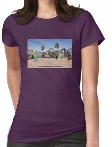 Déjà vu or Vujà dé? Womens Fitted T-Shirt