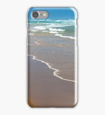 Seascape with fisherman  iPhone Case/Skin