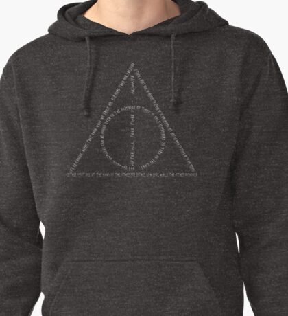 Harry Potter - Deatlhy Hallows 2 Pullover Hoodie