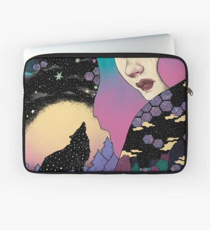 Boreal wolf Laptop Sleeve