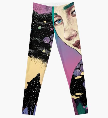 Boreal wolf Leggings