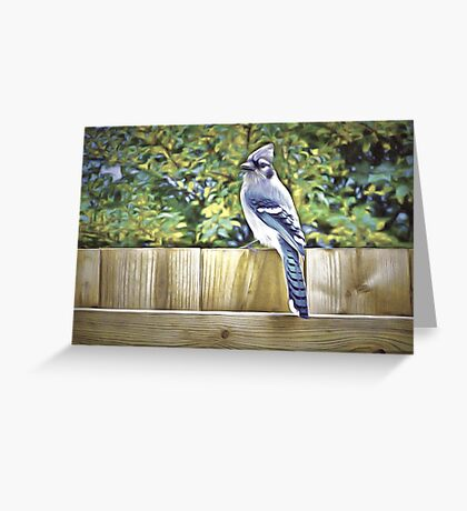 King Of The Blue Jays Greeting Card