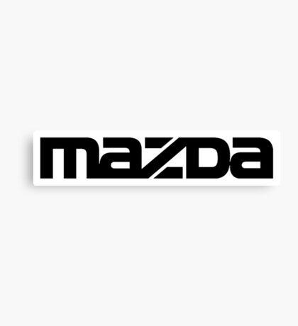 Mazda. Canvas Print
