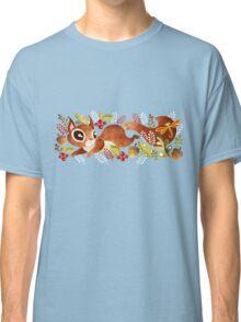 Playful Squirrel Classic T-Shirt