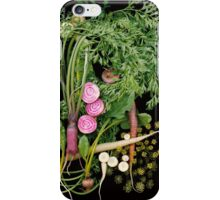 Rhythm and Roots Veggies iPhone Case/Skin