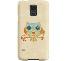 Owl's Summer Love Letters Samsung Galaxy Case/Skin