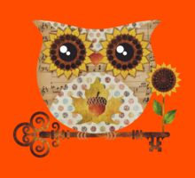 Owl's Autumn Song Kids Clothes