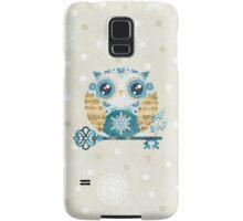 Winter Wonderland Owl Samsung Galaxy Case/Skin