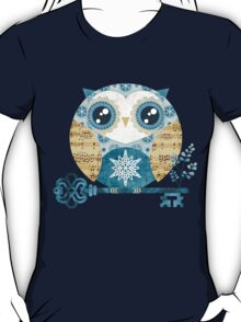Winter Wonderland Owl T-Shirt
