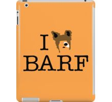 I Heart Barf iPad Case/Skin