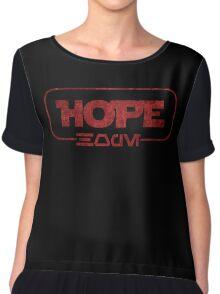 Hope (Aurebesh) Chiffon Top