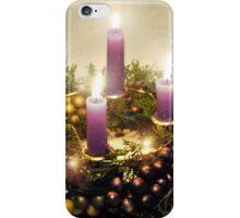 Advent Wreath  iPhone Case/Skin