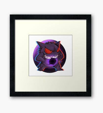 Pokemon - Ghost  Framed Print