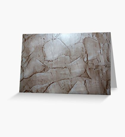 Granite Pattern  Greeting Card