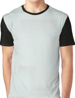 Sea Foam and Gray Graphic T-Shirt