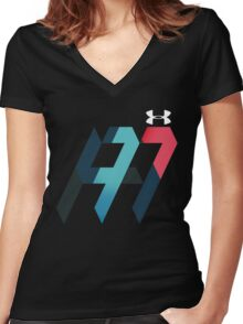 andy murray Women's Fitted V-Neck T-Shirt