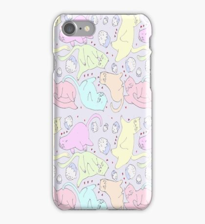 cat pattern iPhone Case/Skin
