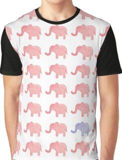 elephant pattern Graphic T-Shirt