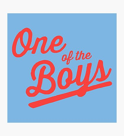 One of The Boys Photographic Print