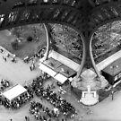 Pillars and ants - Paris - Eiffel Tower by borjoz