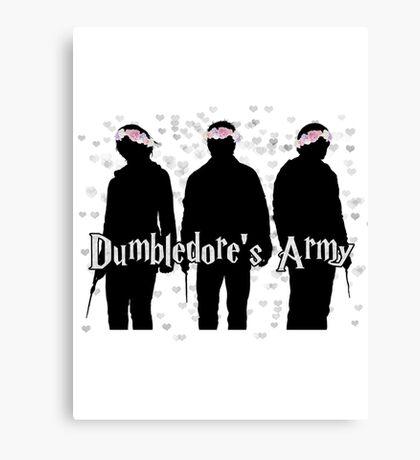 D's Army Canvas Print