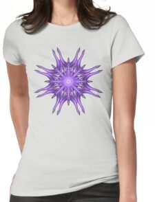 Web Way Mandala Womens Fitted T-Shirt