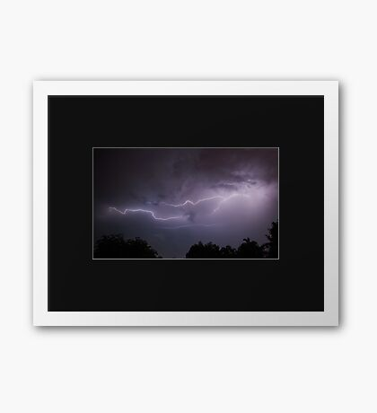 Natures Electricity. Framed Print