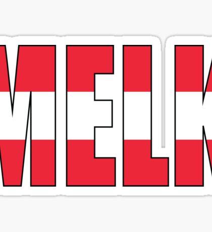 Melk Sticker