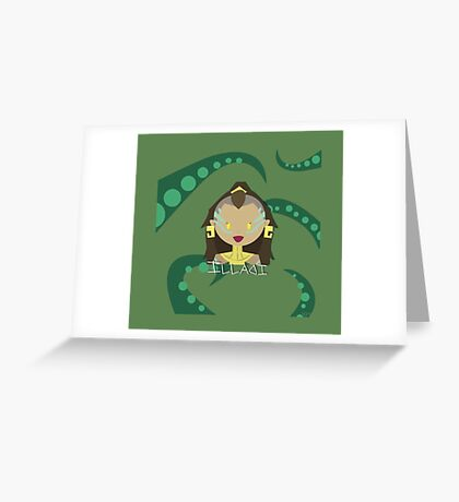 League of Legends - ILLAOI Greeting Card