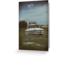 Cadillac Dreams Greeting Card