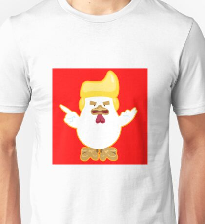 Donald Trump Chinese Chicken Rooster Unisex T-Shirt