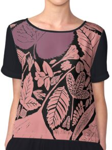 Pink forest Chiffon Top