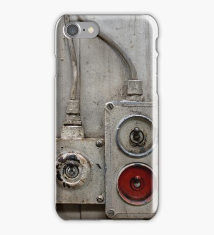 Industrial Switches iPhone Case/Skin