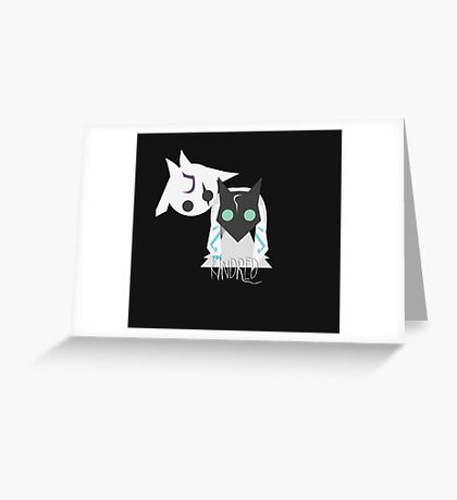 League of Legends - KINDRED Greeting Card